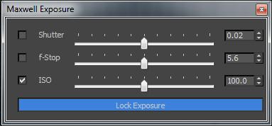 Exposure Dialog Camera+