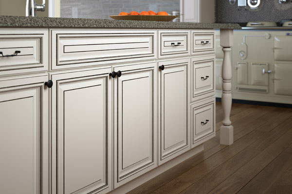 Kitchen cabinetry rendering CGI design
