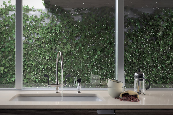 Kitchen faucet rendering using cgi