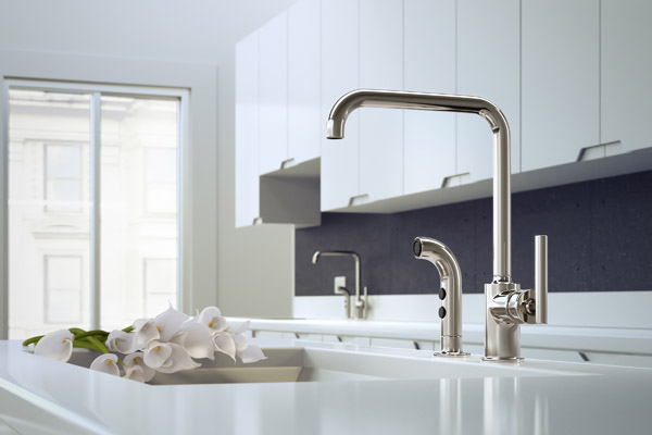 ... Kitchen Faucet Rendering Using Cgi